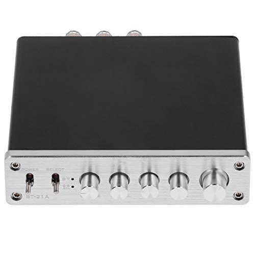 Amplificatore digitale, 100W DC12V-24V Amplificatore digitale Hi-Fi Amplificatore audio stereo ad alta potenza, dimensioni compatte, facile da trasportare e utilizzare, per la casa, con antenna