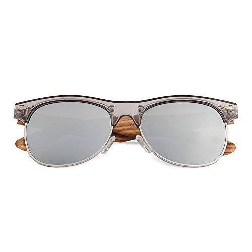 WUDN - Gafas de sol polarizadas de madera real