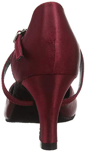 So Danca Damen Bl156 Standard-& Latintanzschuhe, Rot (Burgundy Burgundy), 38.5 EU - 5