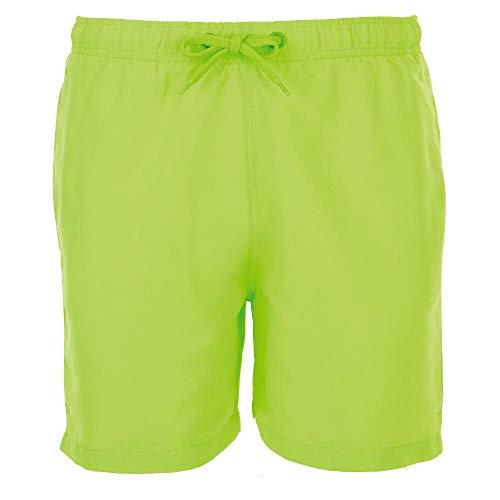 Sol's - zwembroek heren 'Sandy' / neon groen, XL