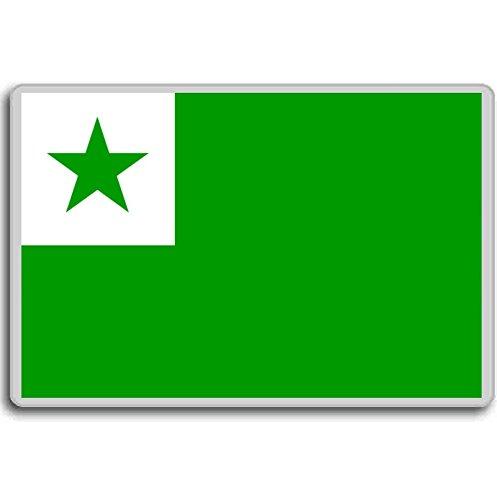 Flag of Esperanto/magnet.!!!!! (Unknown Binding)