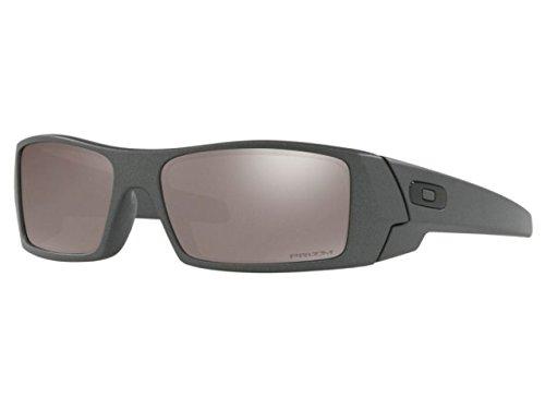 Oakley GasCan anteojos de sol – acero/prizm negro polarizados