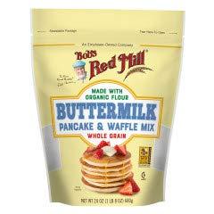 Bobs Red Mill Organic Wholegrain Buttermilk pancake mix 24-oz 2-pack (48-oz total)