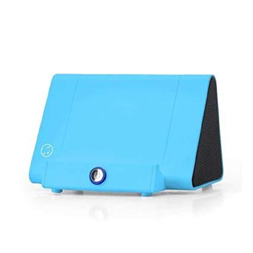 YU-HELLO _Altavoz inalámbrico portátil de inducción de autodetección altavoces de teléfono móvil soporte mini caja de sonido sensores de audio Super Bass