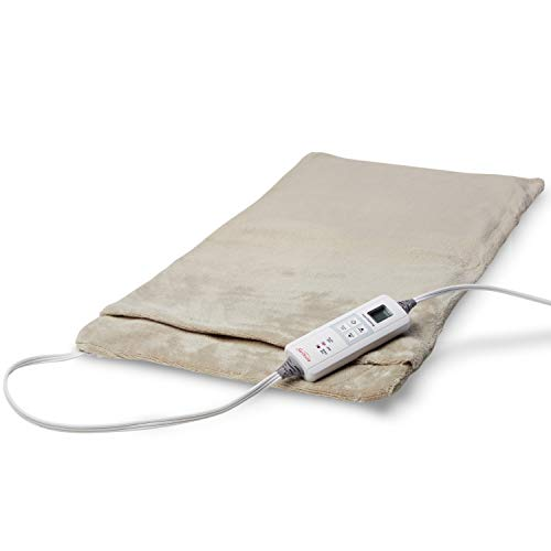 Sunbeam Heating Pad for Fast Pain Relief | XX-Large Ultra-King XpressHeat, 6 Heat Settings with...