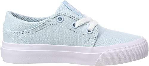 DC Shoes Mädchen Trase TX Skateboardschuhe, Blau (Powder Blue PWD), 31 EU