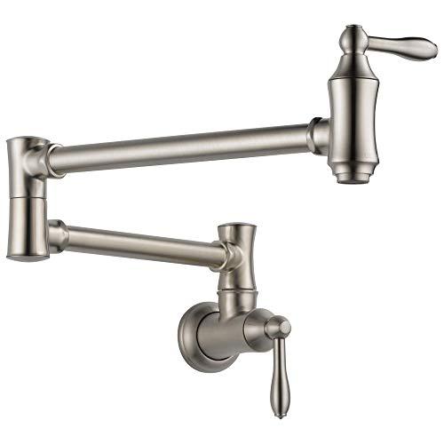 Delta Faucet Traditional Wall-Mount Pot Filler Faucet