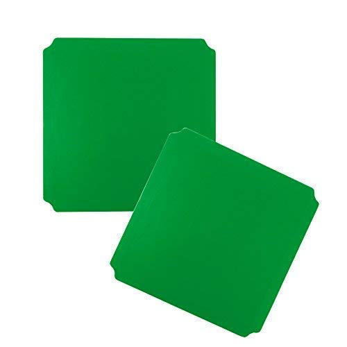 Moveandstic 2er Set Platte grün 40x40 cm