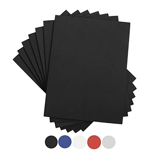 Houseables Crafts Foam Sheets, Art Supplies, EVA, 6mm Thick, Black, 9 X 12 Inch, 10 Pack, Paper Scrapbooking, Cosplay, Crafting Foams Paper, Foamie Crafts, For Kids, Boy Souts, Halloween, Cushion