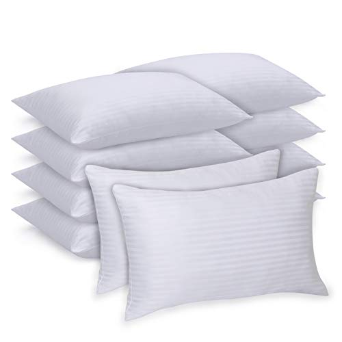 Luxury Queen Pillows 10 Pack, Pillows for...