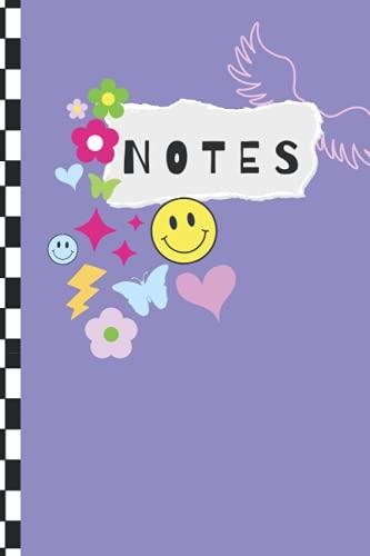 Notes: Sour Purple Olivia Rodrigo Inspired Notebook