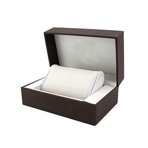 F-HOME Caja De Reloj Seguridad Recubrimiento Amortiguar Durable Robusto Caja De Reloj Accesorios Exquisito Elegante Joyas Mostrar Caja De Regalo