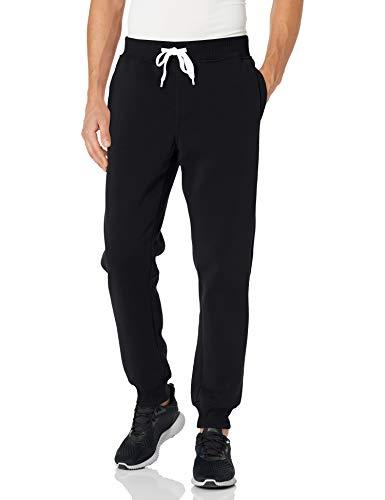 Southpole Men Active Basic Jogger Fleece Pants, Black New, M