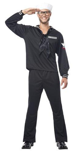 California Costumes Navy, Black, Medium Costume