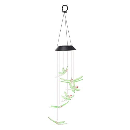 Mobestech Zonne Windgong Lichten Buiten Wind Bel Lamp Huishouden Buiten Binnen Landschap Licht Decoratie