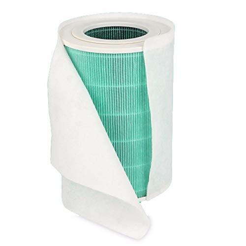 ADUCI 12pcs electrostática Engrosamiento de algodón for Philips for Xiaomi acondicionador de Aire for purificador de Aire Mi Pro / 1/2 purificador de Aire de Polvo Filtro HEPA