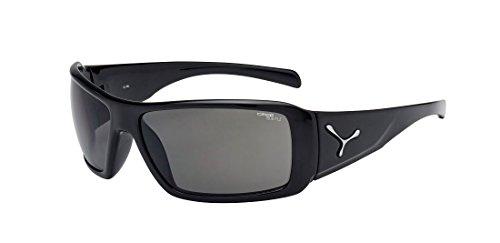 Cébé Utopy CBUTOPY1 Gafas de sol, 1500 Grey PLZ, Negro, L