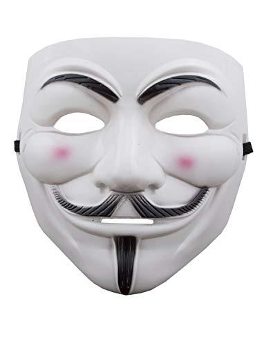 V wie Vendetta Maske Anonimus leichtgewichtigem Kunststoff