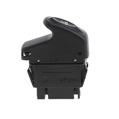 ZhiDuoXing 6 Pines 12V Coche Interruptor de Control de Ventana eléctrica/Ajuste para -Renault Clio II 2 Megane I KANGOO / 7700429998