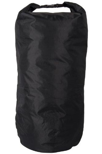 Mountain Warehouse Kleiner, wasserdichter Beutel - 22 Liter - Wasserfester Rucksack, versiegelte Nähte, Rolltop-Verschluss - Ideal zur Verwendung in einem Tagesrucksack Schwarz Einheitsgröße
