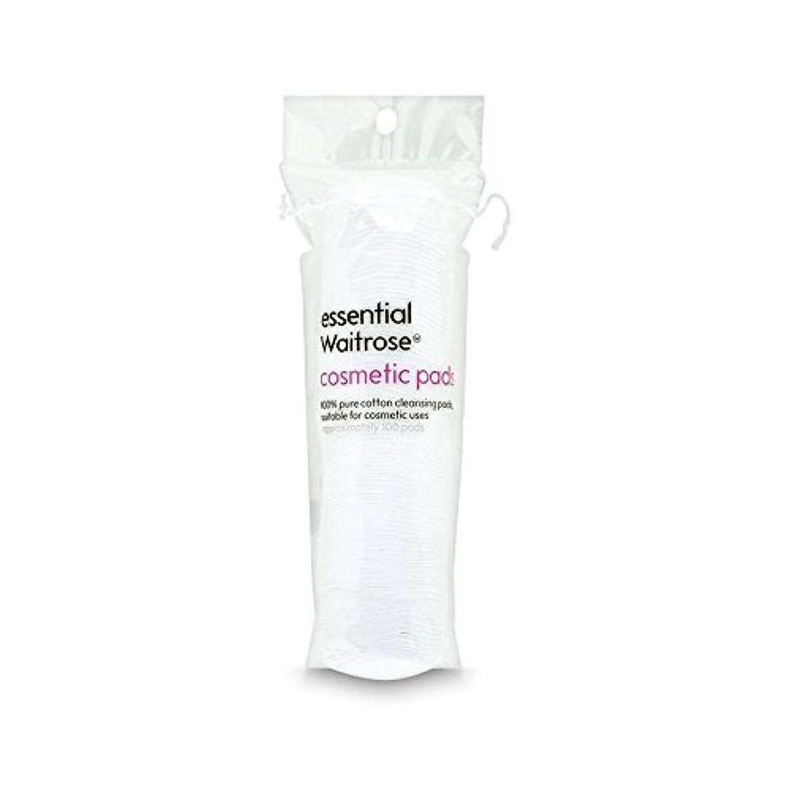 討論学者アスリート純粋な綿パッドパックあたり不可欠ウェイトローズ100 (Waitrose Essentials) - Pure Cotton Pads essential Waitrose 100 per pack [並行輸入品]
