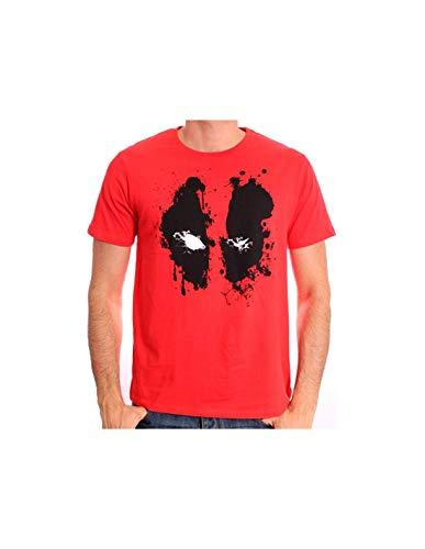 T-Shirt Deadpool Marvel - Deadpool Splash Head
