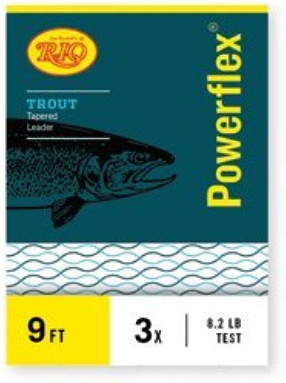Rio  Powerflex Trout Leaders, 3 Pk, 9ft 4X by Rio Brands