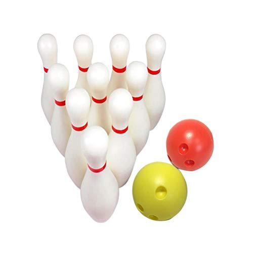 STOBOK 12 stücke große Bowling spielsets Indoor Outdoor Sports Bowling Spiele Spielzeug für Kinder Kinder