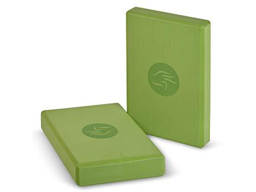Chin Mudra Blocco di Yoga Eva Non tossico–30cm x 20cm x 5cm–Verde