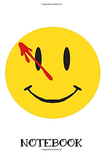 Watchmen Logo Spiral Notebook: (110 Pages, Lined, 6 x 9)