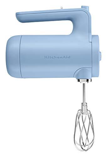 KitchenAid KHMB732VB Cordless Hand Mixer, 7 Speed, Blue Velvet