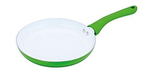Ricco koekenpan met keramische coating, aluminium, 20 cm, 24 cm, 28 cm, zwart, groen, paars of rood