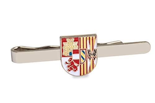 Gemelolandia Pasador de Corbata Escudo del Tercio de Juan de Austria Tercero de la Legión   Pisa Corbatas Para usar en Bodas y en Eventos formales   Da un toque Elegante