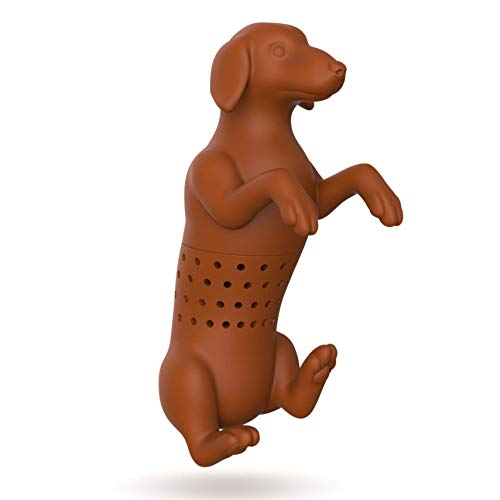 Fred & Friends HOT DOG Silicone Tea Infuser
