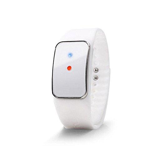 A&Dan Electronic Ultrasonic Mosquito Repellent Wristband, Electronic Mosquito Repellent Ultrasonic Mosquito Repellent Wristband,White