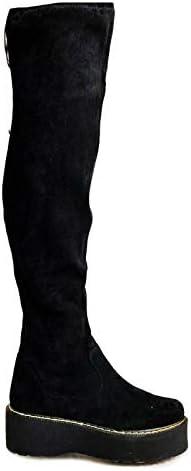 DunaCuna Stivali al Ginocchio da Donna Stivali da Equitazione