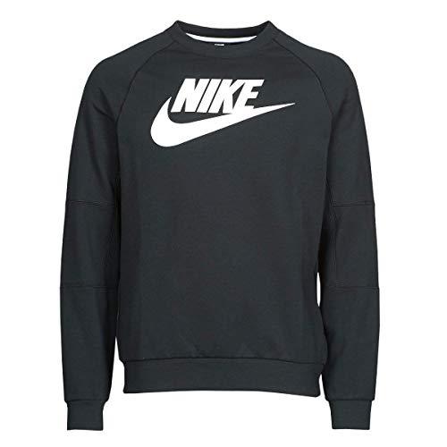 Nike Herren Modern Crew Hbr Sweatshirt, Black/White, XXL