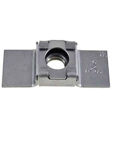 10 Pack 3/8-16 Floating Cage Nut - Weld Nuts with a Floating Cage Nut for Misaligned Holes