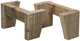 OLD ASHIBA (足場板古材) LEGS(専用脚/2個入) 奥行295mm用 高さ150mm 無塗装