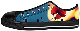 Daniel Turnai Fan Custom Art Tree Painting Mens Classic High Top Canvas Shoes Fashion Sneaker