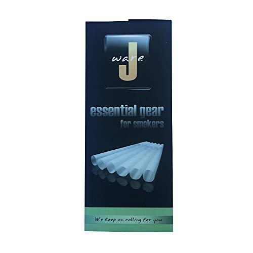 JWARE 800x Konisch Hülsen aus natürlichem Hanfpapier vorgedrehte Joint Hülsen 109mm vorgerollte Joint Cones