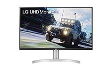 LG 27UN83A 68,58 cm (27 Zoll) UHD 4K Monitor (IPS-Panel, VESA Display HDR 400, USB-C), weiß silber©Amazon
