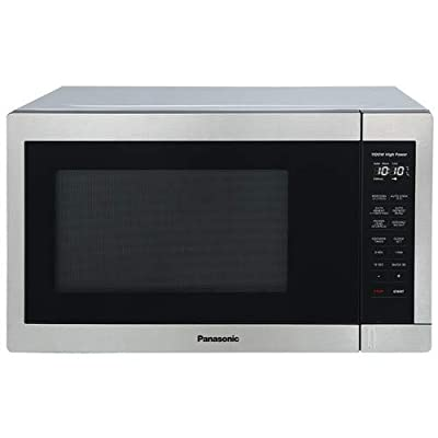Panasonic NN-SB658S is a 1.3 Cu Ft 1100W Cooking Power Smart Touch Controls Turbo Defrost Countertop Microwave Oven (Renewed)