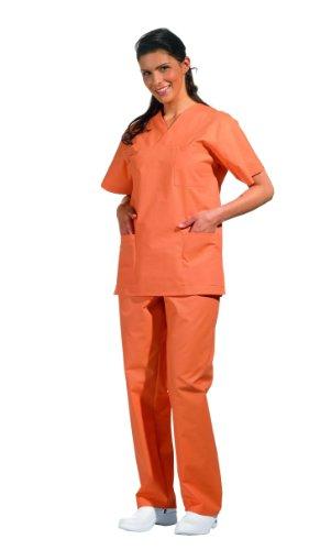 Leiber Damen Herren OP Hose Schlupfhose orange Gr. 0