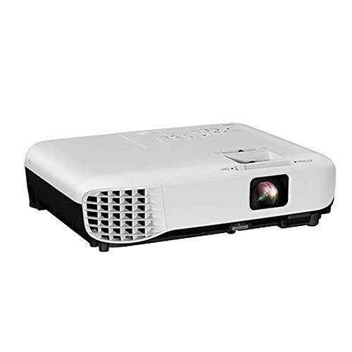 ALIZJJ Potable Mini proyector LED proyector Full HD 1080P de Pantalla admitidos for Stick de TV de Videojuegos DVD Smartphone de Cine en casa