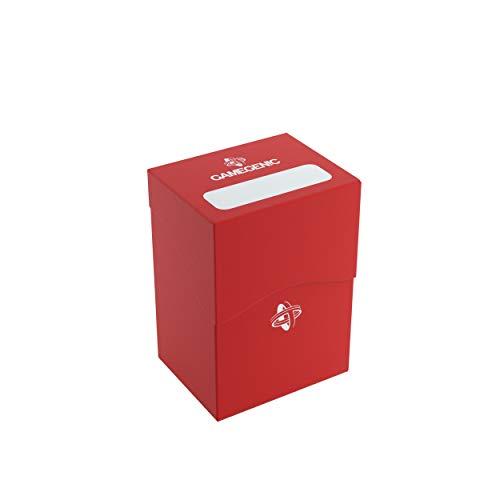 GAMEGEN!C - Deck Holder 80+, Color rojo (GGS25023ML)