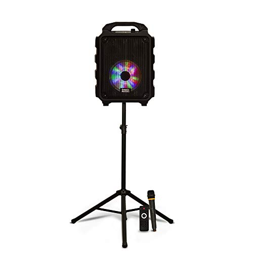 Acoustic Audio AS1 Steel Speaker Stand Reversible Pole PA DJ Karaoke Band Home