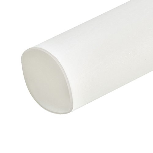 uxcell Heat Shrink Tubing 5mm Dia 10m 2:1 Heat Shrink Tube Wire Wrap White