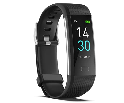 Digimmi Smart Wristband Fitness Tracker for Women & Men with Heart Rate Monitor, Blood Pressure Monitor, Sleep Tracker, Step Counter, IP68 Waterproof Watch