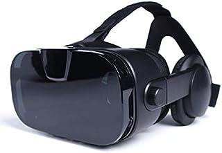 WAX-VRYJ バーチャルリアリティは、全目の保護と快適&調節可能なメガネゴーグル - 子供と大人のためのギフト (Color : Black)